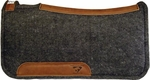 Diamond Wool Tough Wool Felt Contoured  Saddle Pad