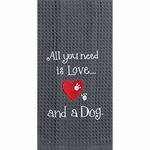 Dog Lover Tea Towel
