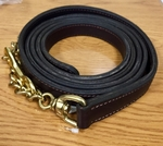 Double Leather English Chain Shank