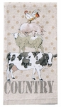 Farm Life Terry Towel