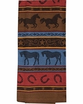 Grace & Beauty Horses Jacquard Towel