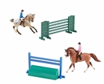 Horse & Rider Stablemates - English Riders
