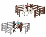 Horse & Rider Stablemates - Western Riders