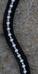 KL Select Curved Pearl Browband