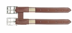 Leather Girth Extender with Elastic Inset