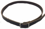 Leather Neck Straps with Brass Plate