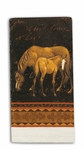 Mare and Foal Terry Towel
