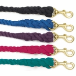 Solid Brass Snap- 3 ply braided lead
