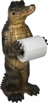Standing Alligator Toilet Paper Holder