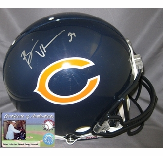 best authentic 69515 902da Brian Urlacher Hand Signed / Autographed Chicago Bears ...