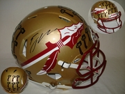 EJ Manuel Hand Signed/Autographed Florida State Seminoles Full Size Authentic Football Helmet