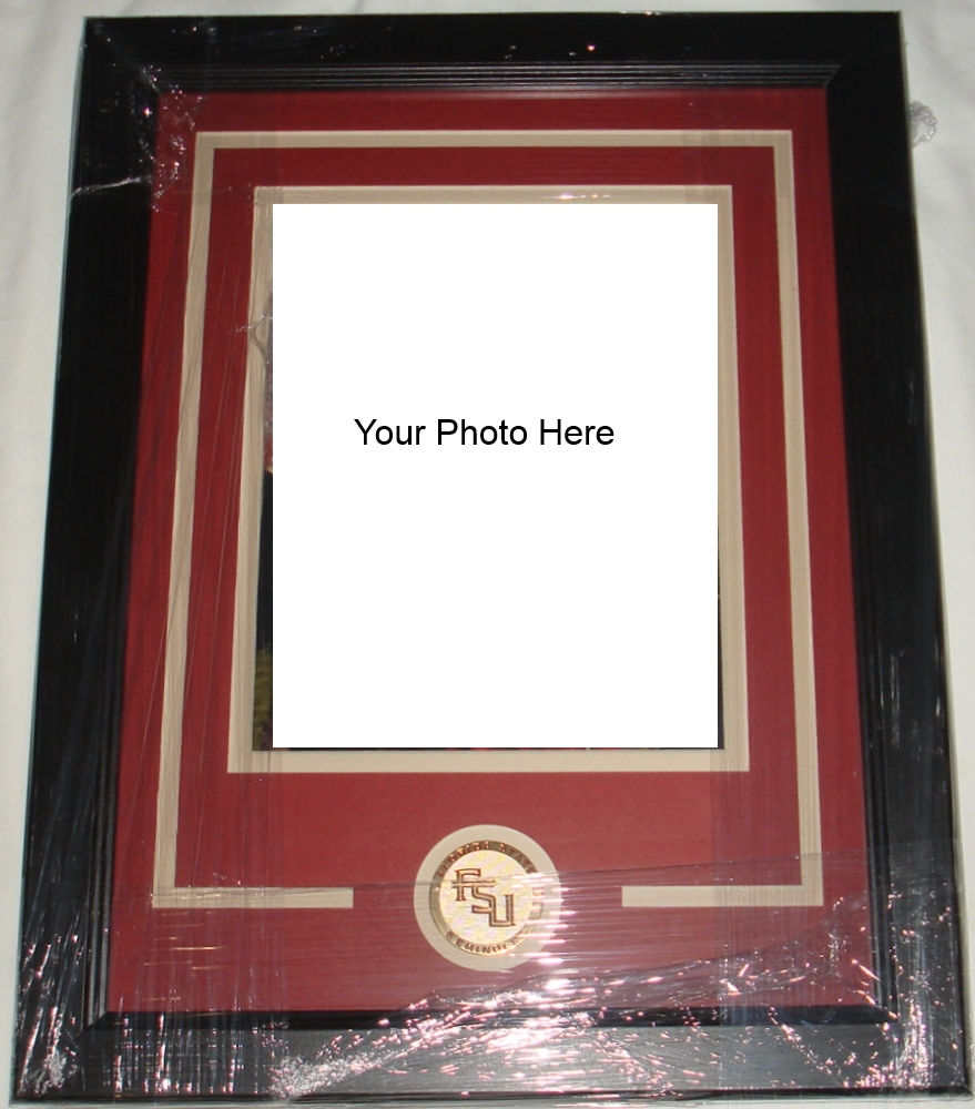 Custom Frame FSU Seminoles 8 x 10 Photo