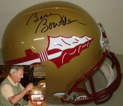 Florida State Seminoles Hand Signed/Autographed Full Size Deluxe Replica Football Helmets