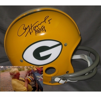3baae554ae7 Paul Hornung Hand Signed   Autographed Green Bay Packers Authentic RK Helmet