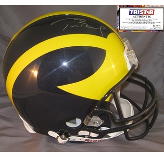 promo code 512b3 59688 Tom Brady Hand Signed / Autographed Michigan Wolverines ...
