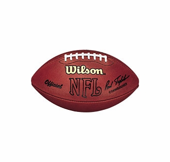 Wilson Official Nfl On Field Game Football F1000