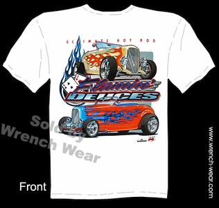1932 Hot Rod Shirt 32 Roadster Ford Tee Street Rod T Shirts Flamin Deuces