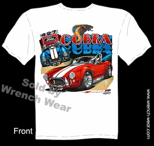 427 Cobra Shirt Ford Racing T Shirt 64 65 66 67 Vintage Muscle Car Tee