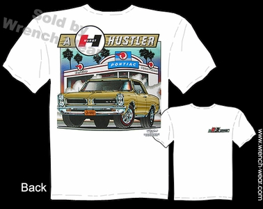 65 GTO T Shirt 1965 Pontiac Tee Muscle Car Clothing Hurst Hustler