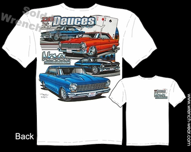 68 69 70 71 72 Chevy Nova T Shirt 62 63 64 65 Chevy II 66 67 Muscle Car Shirt