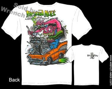 Big Daddy Clothing Rat Fink Shirts Beyond Nuts 1957 Chevy 57 Ed Roth T Shirts