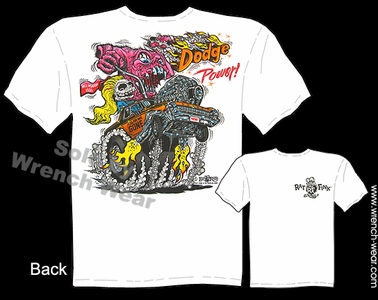 Rat Fink T Shirts Big Daddy Clothing Dodge Power Dodge Tshirt Ed Roth Tee