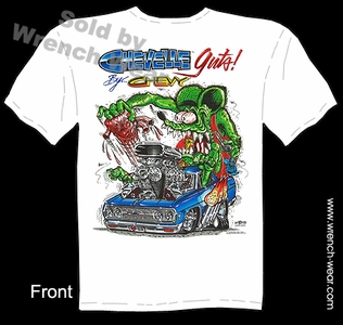 Big Daddy Shirt Rat Fink Clothing 65 Chevelle Guts Ed Roth T Shirt