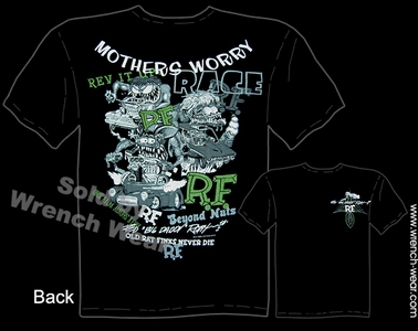 Rat Fink Tee Shirts Big Daddy Shirt Mothers Worry Collage Ed Roth Tshirt