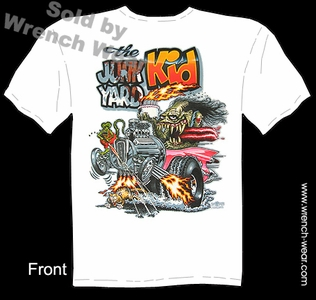 Big Daddy Shirts The JunkYard Kid Rat Fink Tee Shirts Ed Roth T Shirts