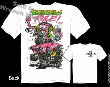 Big Daddy T 1950 1951 Studebakers Rule! Rat Fink T Shirts Ed Roth Tee