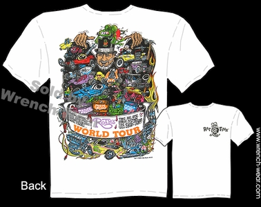 Big Daddy T Ratfink T Shirts Ed Roth World Tour