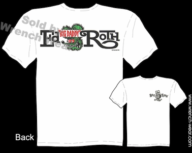 Ed Roth T Shirts Logo Big Daddy T Rat Fink Apparel