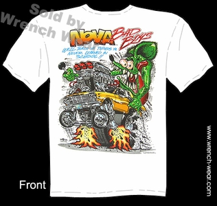 Rat Fink Apparel Big Daddy T Nova Bad Boys 1962 1963 1964 1965 Chevy Shirt