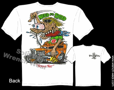 Big Daddy T Shirts Rat Fink Shirt 1932 Ford 32 Sedan Need For Speed Tee