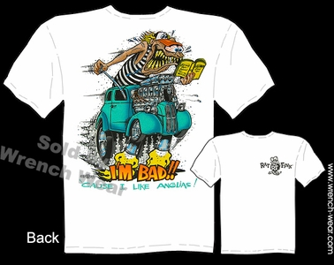 Big Daddy Tee Rat Fink Apparel 48-53 Anglia Ed Roth T Shirt