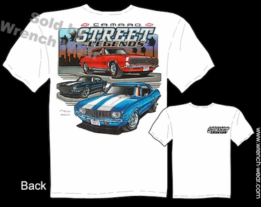 Camaro Shirt 1967 1968 1969 1970 Muscle Cars T Shirts 67 68 69 70 Street Legends