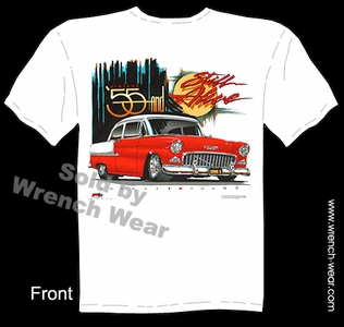 Classic Cars T Shirts 1955 Chevrolet Shirts 55 Chevy Tee Still Alive