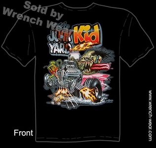 Rat Fink Tshirt The Junk Yard Kid Ed Big Daddy Roth T Shirts