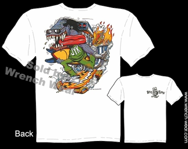 Ed Roth Shirts Junk Yard Kid Rat Fink Apparel Big Daddy T Shirt