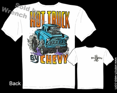 Ed Roth T Shirt Hot Truck By Chevy Rat Fink Tee Big Daddy Apparel 55 56 Pickup