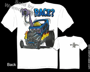 Rat Fink Shirts Ed Roth T Shirt Race? Drag Nut Big Daddy Clothing 30 31 Ford
