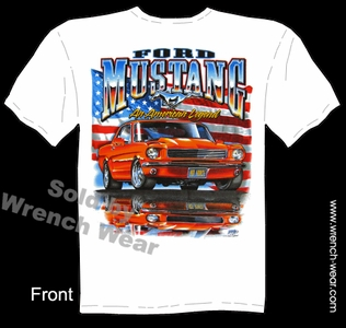 Ford Mustang Apparel Tee 64 65 66 Ford T Shirts 1964 1965 1966 American Legend
