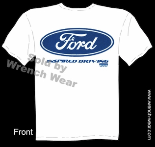 Ford Shirt Blue Oval Tee Performance T Shirts Inspired Driving