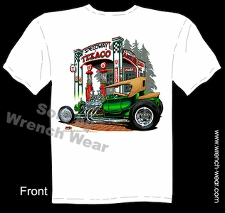 Ford Shirts 23 Model T Hot Rod Tee 1923 Vintage Car T Shirt Texaco T