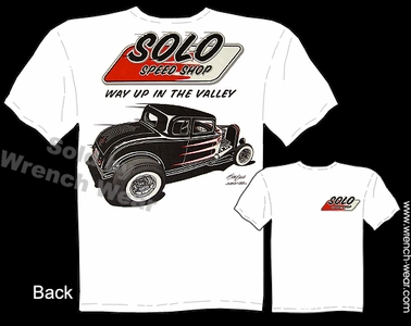 Ford Tshirt 1932 Hot Rod Tee 32 Solo Speed Shop Clothing Vintage Car Shirt