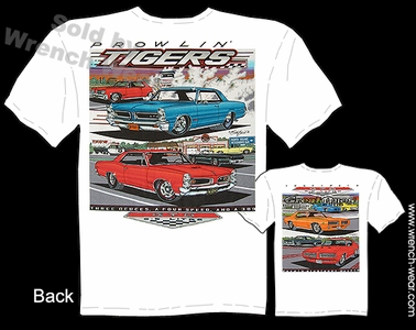 GTO Shirts 68 69 70 71 72 Pontiac Apparel 64 65 66 67 Muscle Car T Shirts