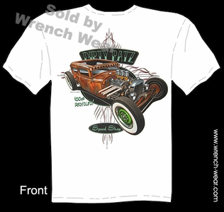 Hot Rod Apparel 30 31 Vintage Ford T Shirts 1930 1931 Rat Rod Tee Tudor Sedan