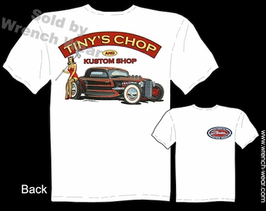 Hot Rod Shirts 33 34 Ford Tee 1933 1934 Coupe Tiny's Chop Pin Up Tshirts