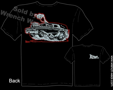 Hot Rod T Shirts Hearse Kustom Kulture Tee Tattoo Apparel