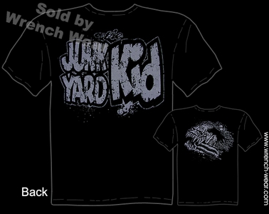 Junk Yard Kid Head T Shirt Rat Fink Ed Roth Apparel Big Daddy Tee